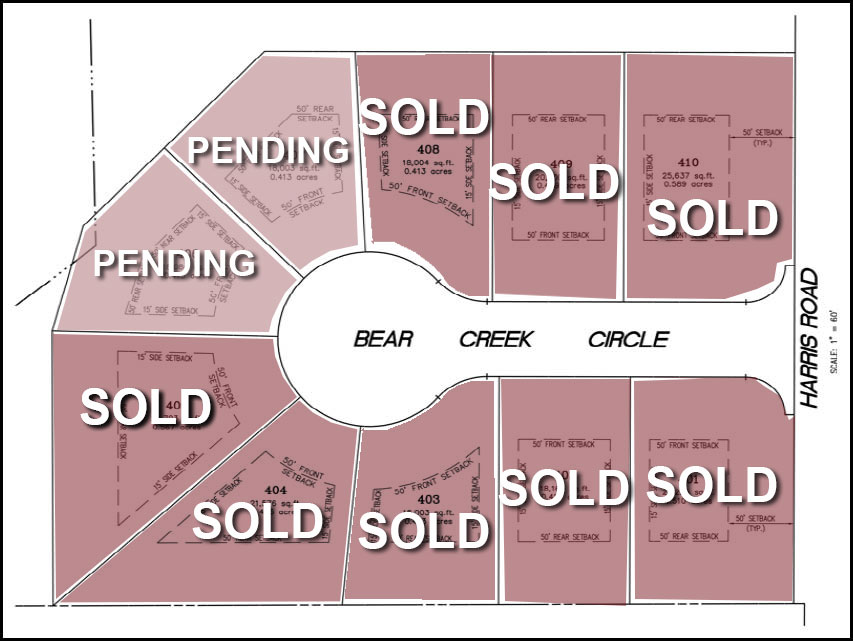 Bear Creek layout